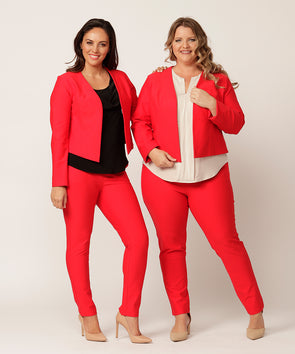 SALE Tatum pant in red