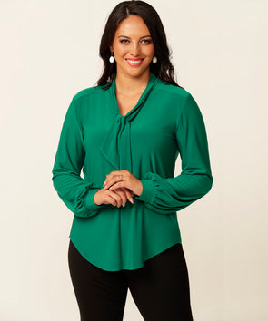 Cameron top in Green