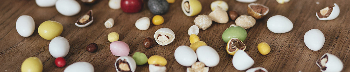 Lavolio London Confectionery different flavours Italian artisan-made sweets healthy vegetarian