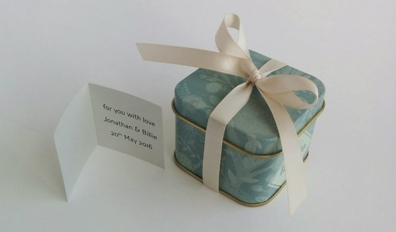 Lavolio London Confectionery tiny box personalise message gifts