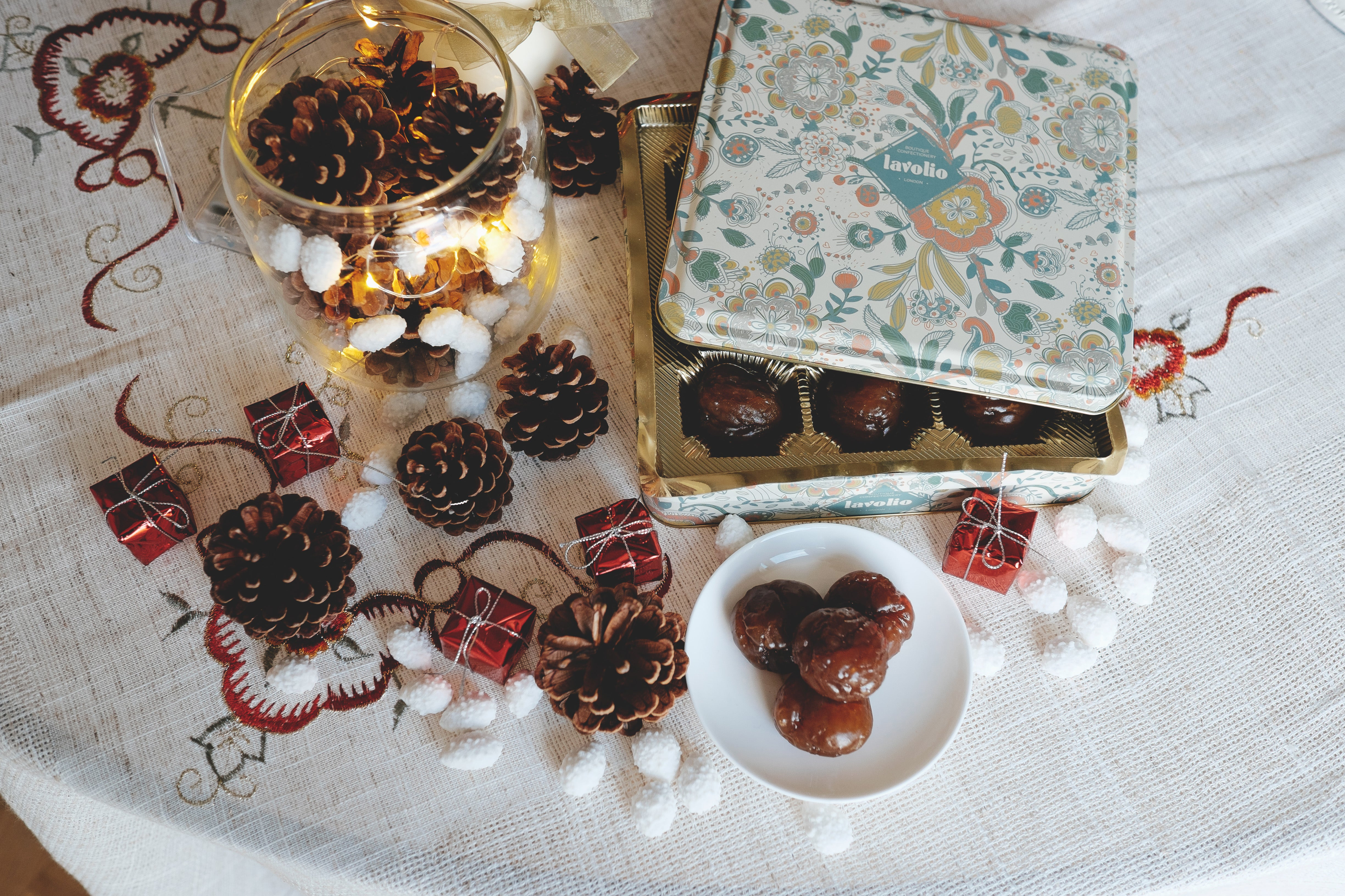 Lavolio London confectionery present christmas gifts italian