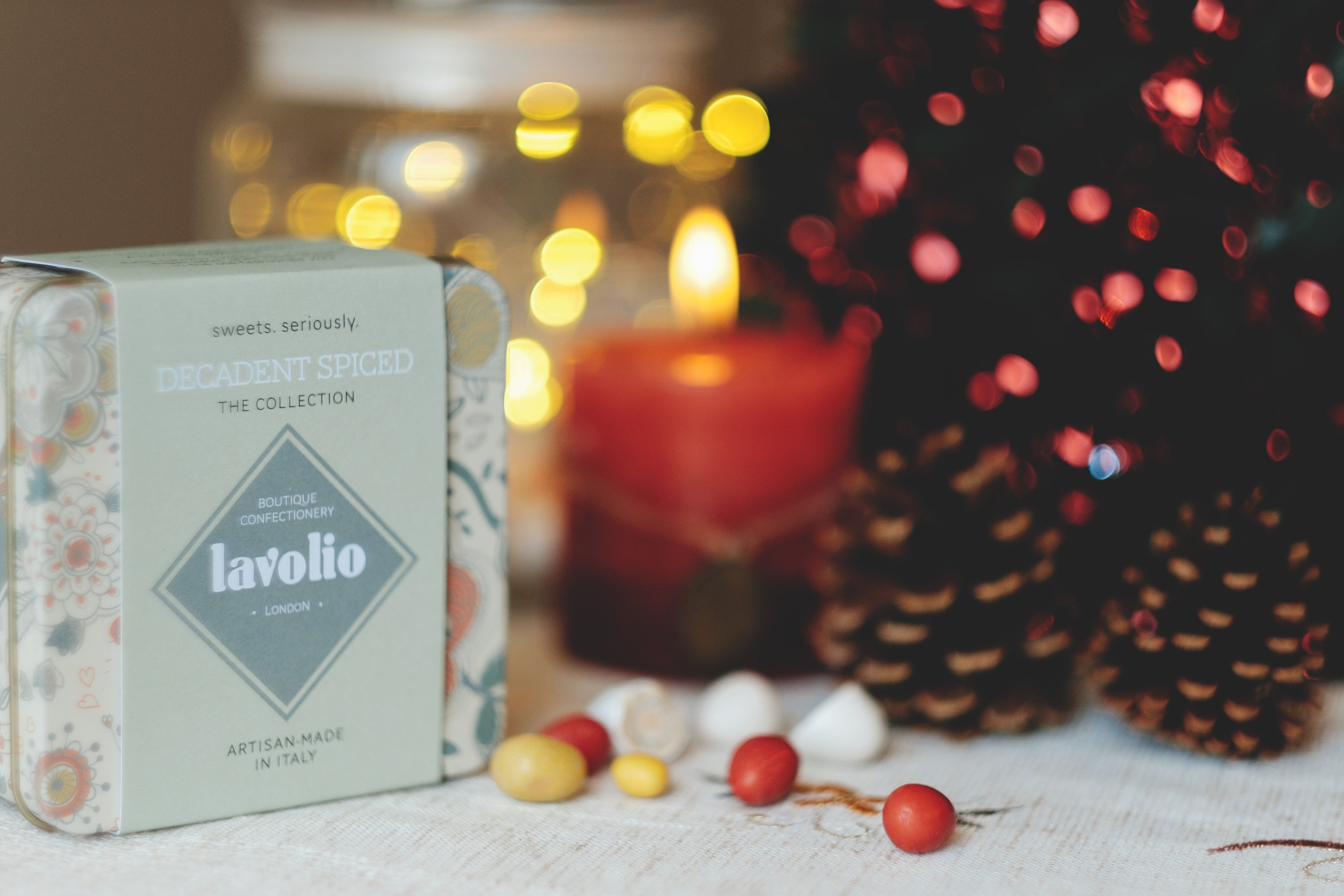Lavolio london confectionery gifts under £15 artisan-made sweets