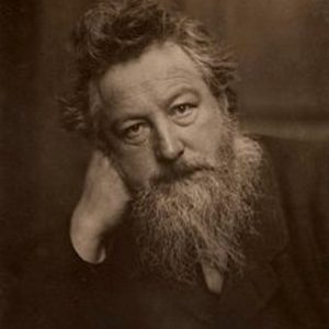 William Morris face for biography