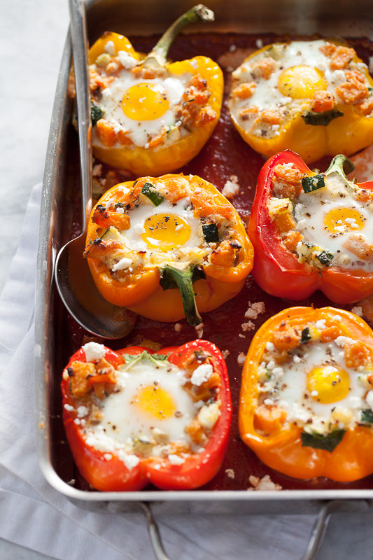 confectionery breakfast peppers eggs vegetarian