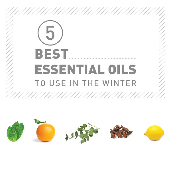 5 Best Essential Oils to Use in the Winter