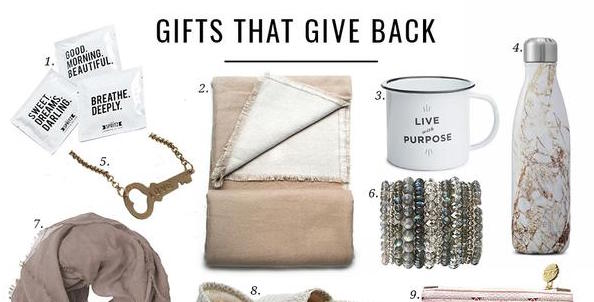 Gifts that Give Back | Jillian Harris