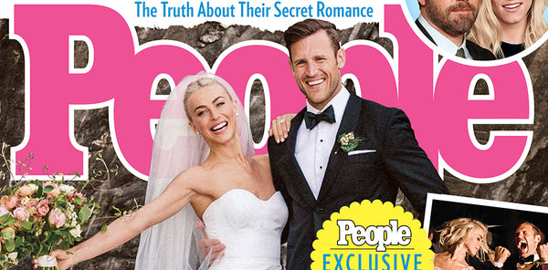 Julianne Hough Wedding in People Mag feat. Happy Spritz