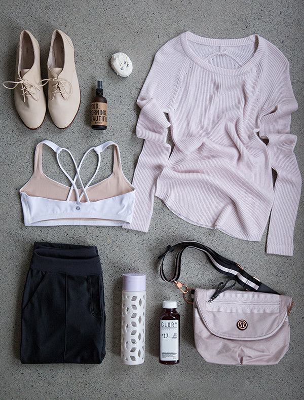 Lululemon + Happy Spritz Good Morning Beautiful aromatherapy blend