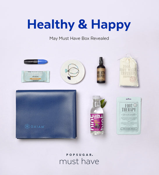 PopSugar + Happy Spritz May Must Have Box!
