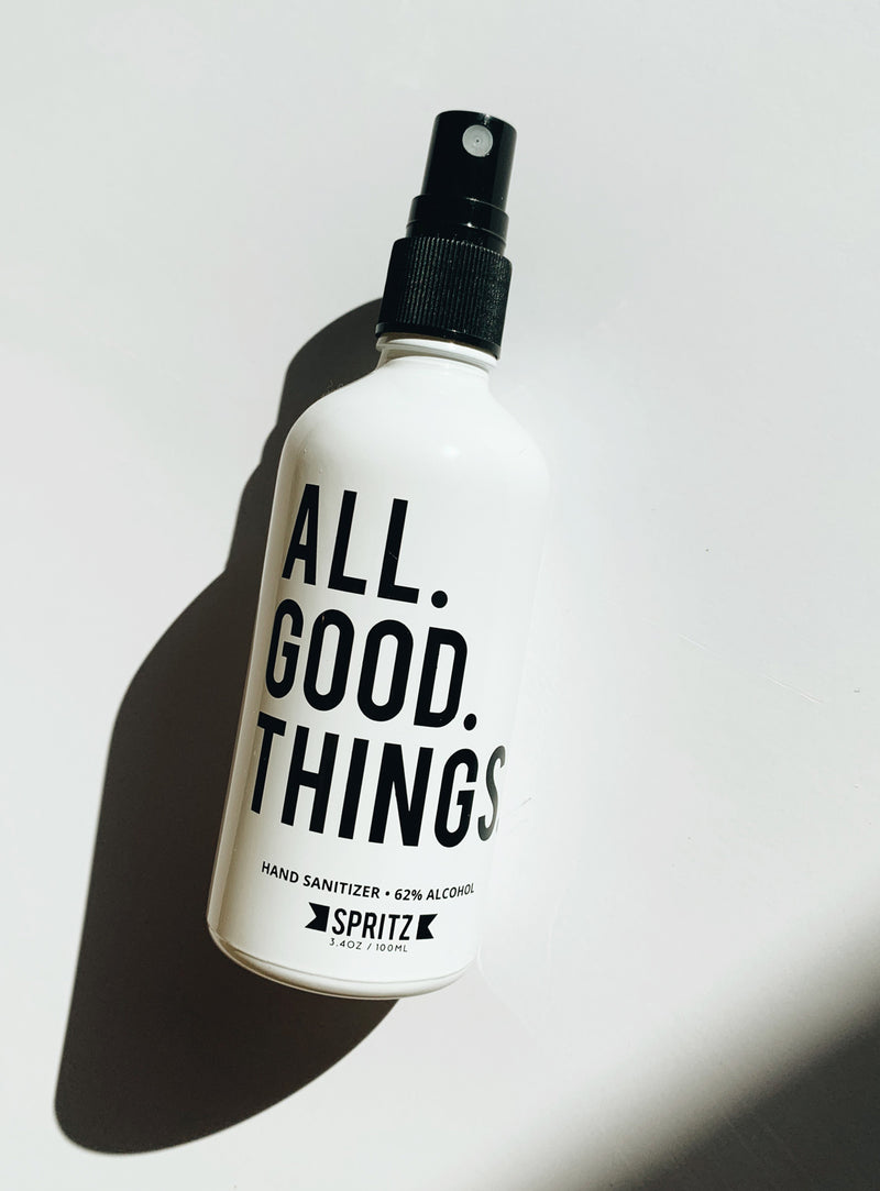All Good Things Hand Sanitizer by Happy Spritz