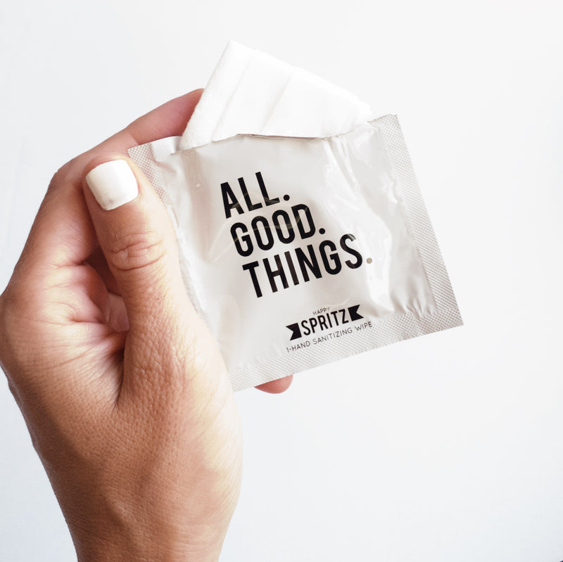 All Good Things Hand Sanitizing Towelettes - 30 Count Bag