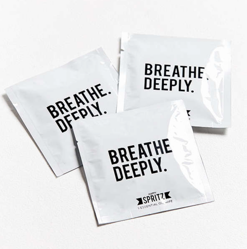 Breathe Deeply Essential Oil Towelette - 100 Individuals