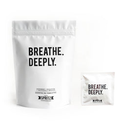 Breathe Deeply Essential Oil Towelettes 7 Day Bag