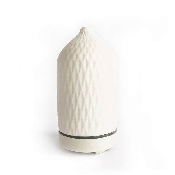 Choose Happy Prism Textured Ceramic Diffuser