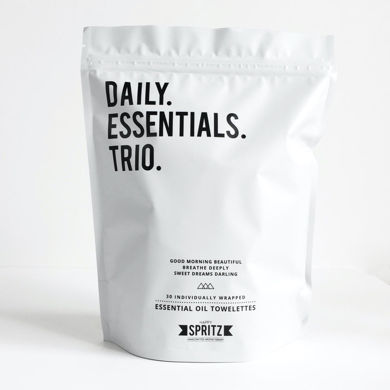 Daily Essentials Trio Essential Oil Wipes Mixed Bag
