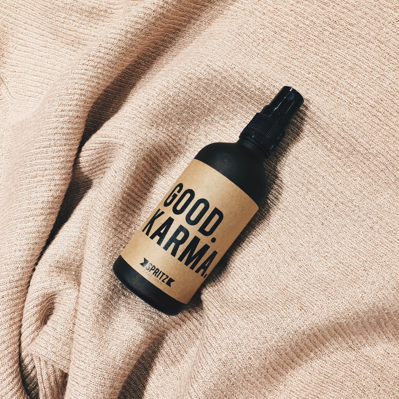 Happy Spritz Good Karma - Rosewater and Aloe Essential Oil Spray
