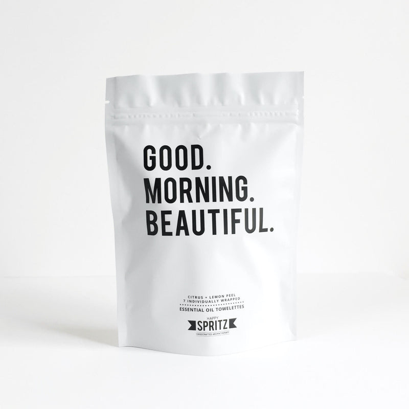 Good Morning Beautiful Essential Oil Towelettes