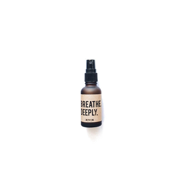 Happy Spritz Breathe Deeply - Peppermint and Eucalyptus Essential Oil Spray