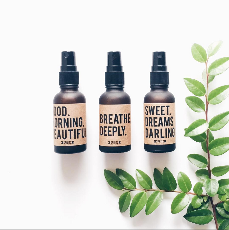 Happy Spritz Mini Essential Oil Trio