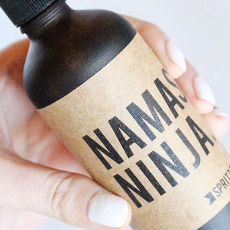 Namaste Ninja Essential Oil Yoga Spray