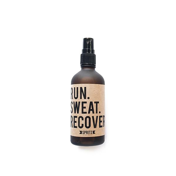 Run Sweat Recover Spearmint and Tea Tree Essential Oil Spray for Athletes