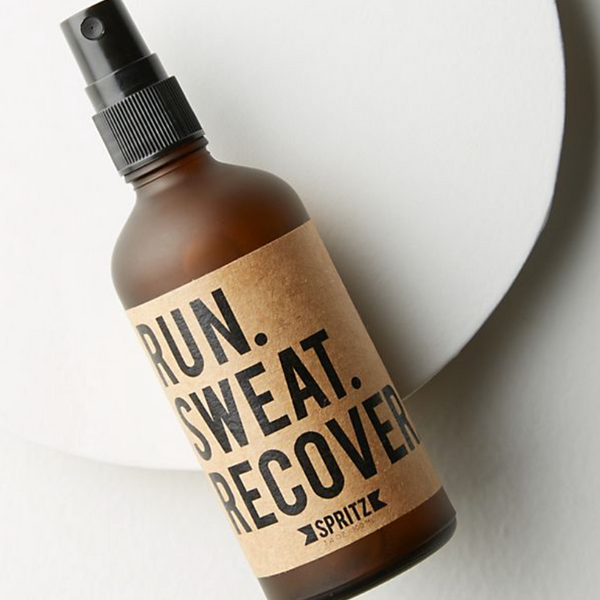 Run Sweat Recover Spearmint & Eucalyptus Essential Oil Spray