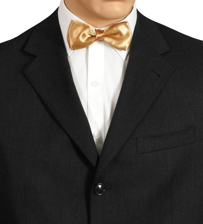 Antique Gold Bow Tie