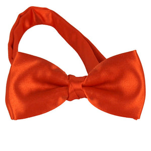 Kids Orange Bow Tie