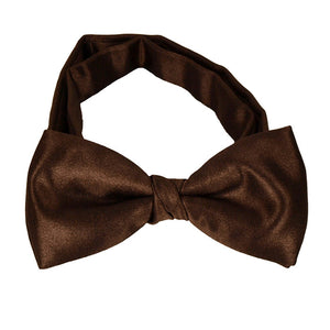 Chocolate Brown Boys Bow Tie