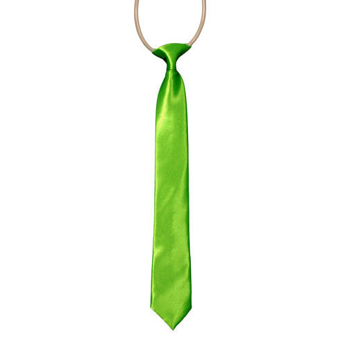Electric Green Boys Tie