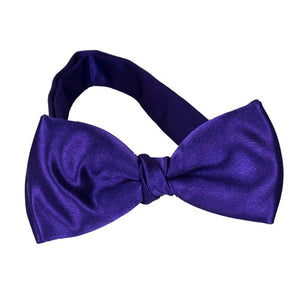 Kids Purple Bow Ties