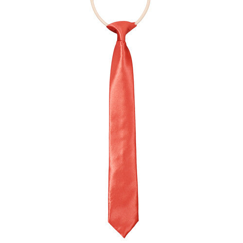 Coral Ties For Boys