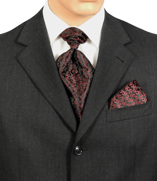 Fat Boy Ties Burgundy And Black