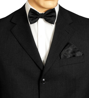 Black Stripe Formal Bow Ties