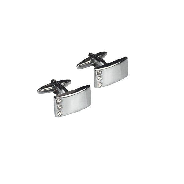 Cufflinks With Crystals