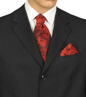 Fat Boy Tie Scarlet Tapestry