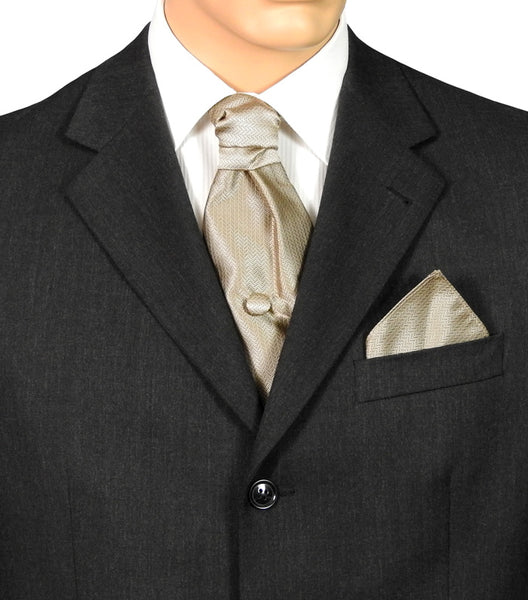 Champagne Gold Fatboy Tie