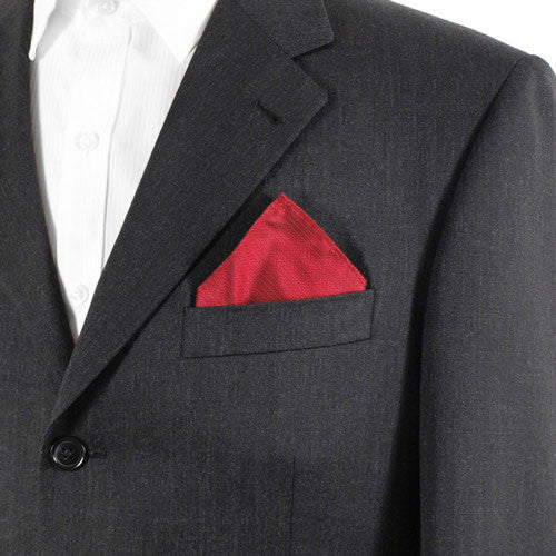 Red Pocket Squares
