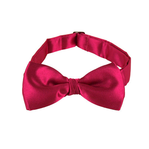 Kids Pink Bow Ties