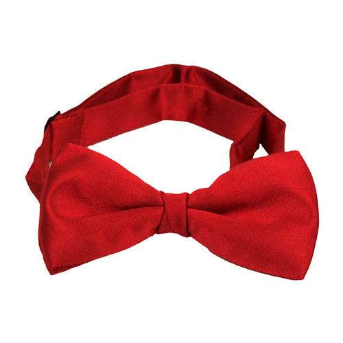 Boys Red Bow Tie