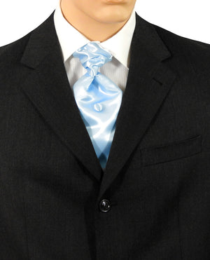 Baby Blue Fat Boy Tie