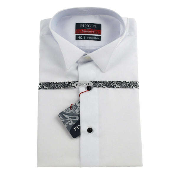 Formal shirts mens formal for Tuxedo shirt without studs