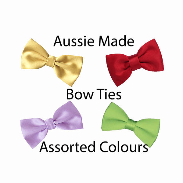Assorted Satin Bow Ties