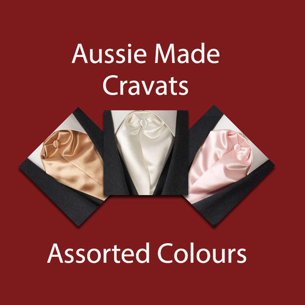 Assorted Satin Cravats