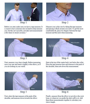 How to measure for shirt sleeve size