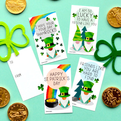 St. Patrick's Day Gnome Gift Tags