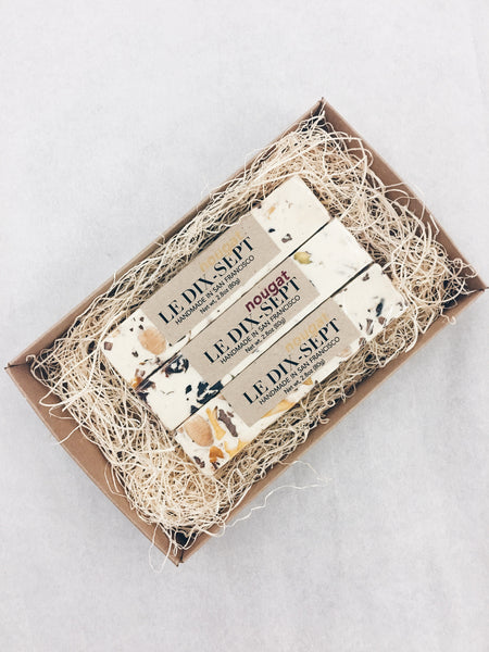 Le Dix-Sept Nougat Gift Box (Winter Mix: Blanc/Noel)