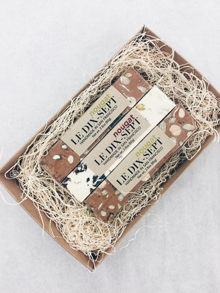 Le Dix-Sept Nougat Gift Box (Winter Box: Chocolat/Noel)