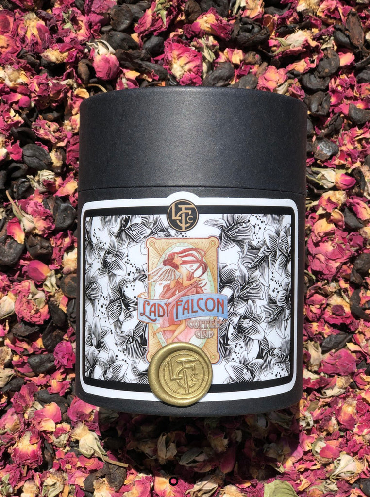 Rose-Cáscara Tea: Lady Falcon Coffee Club