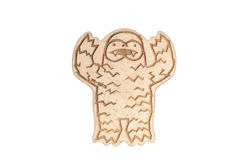 Wood Yeti Howl Patch